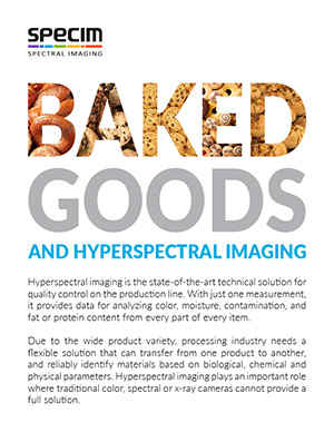 Baked goods and hyperspectral imaging 2-pager