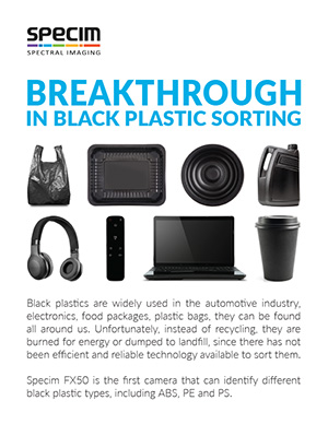 Breakthrough in black plastic sorting 2-pager