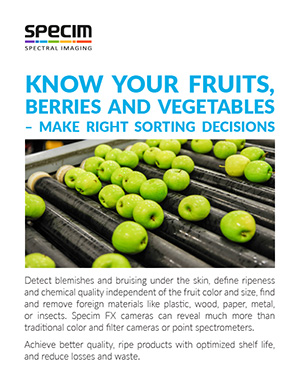 Know your fruits, berries and vegetables 2-pager