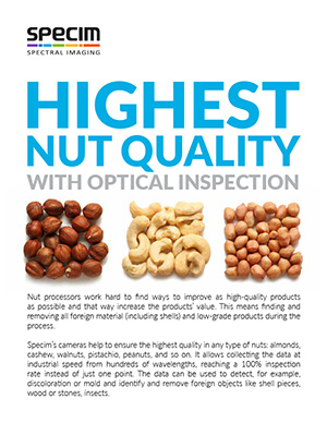 Highest nut quality with optical sorting 2-pager