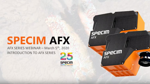 Introducing Specim AFX -webinar.