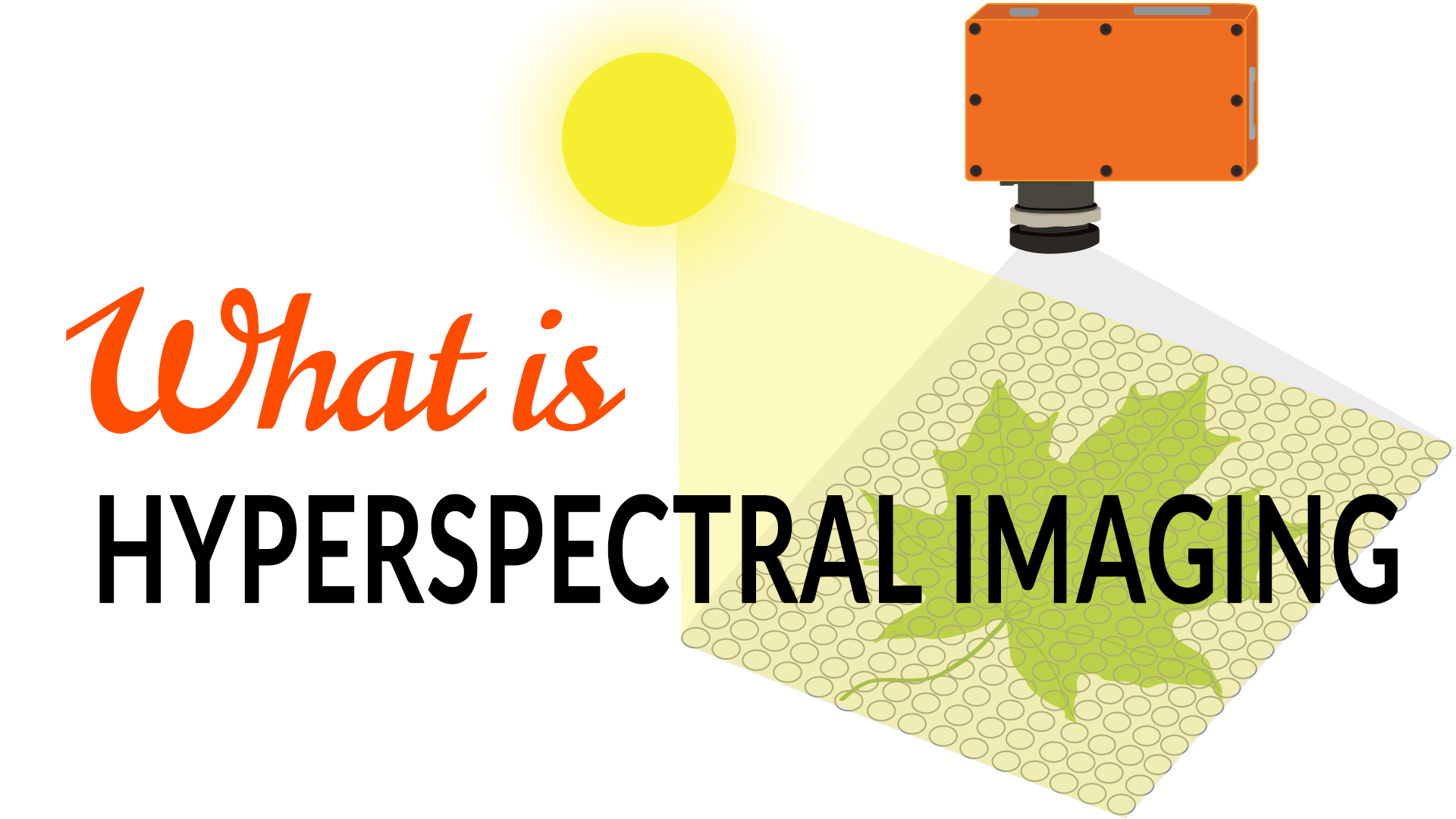 What is hyperspectral imaging?